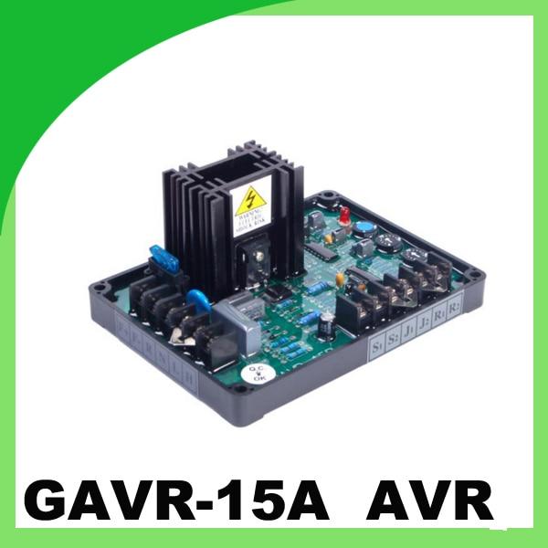ФОТО China GAVR 15A bushless geneator automatic voltage regulator