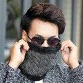 Зимой и весной плюс подшерсток кашмирской козы шарф утолщение мужчин и женщин шарф набор утолщенной кашемир ангора вязание шерстяной шарф холодный теплый