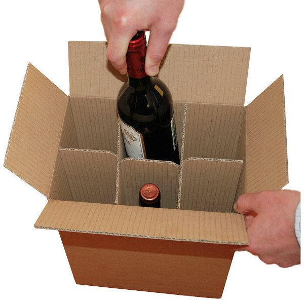 Wholesale Custom Carton Boxes For Shipping Wine With Cardboard ...