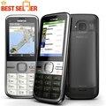 Nokia C5 C5-00 C5-00i Оригинальный Телефон Разблокирована Сотовые телефоны GSM 3 Г 3-мегапиксельной Камерой FM Bluetooth GPS