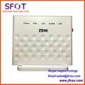 Nuevo diseño original zte zxa10 f601 ftth gpon terminal o ftto gpon onu con un puerto ethernet