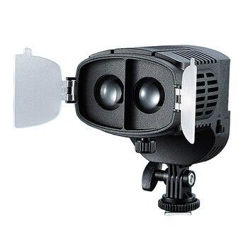 CN-20FC On-Camera LED Light Video Spotlight 3200-5600K Adjustable Brightness Focus Light For Canon Nikon DSLR Camera Camcorder