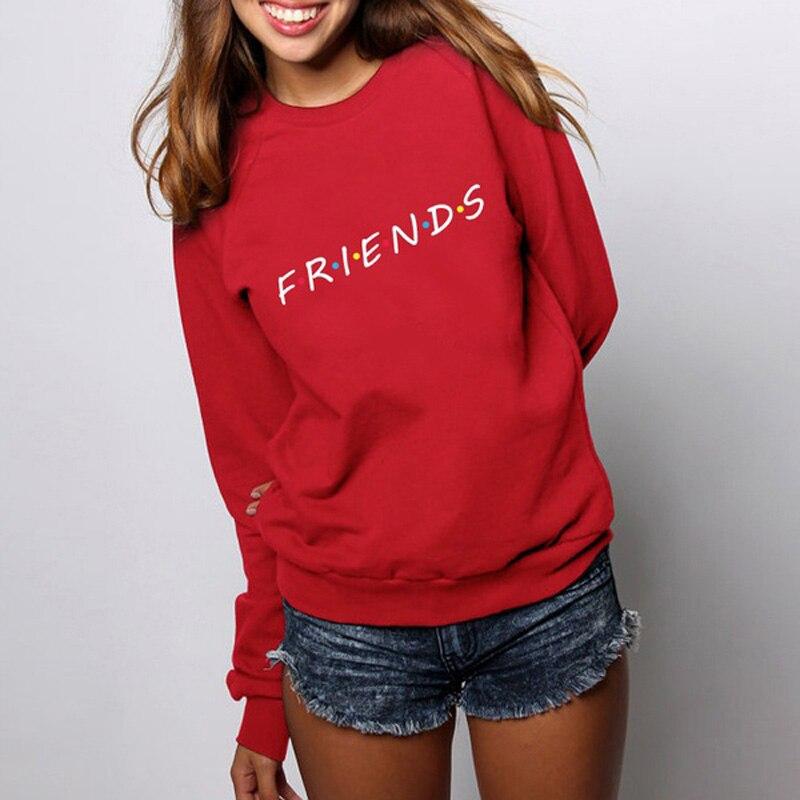 Friends TV Show Women hoodies casual sweatshirt coat jacket outwear tops pullover candy XS-2XL Autumn fleece hoodies jackets