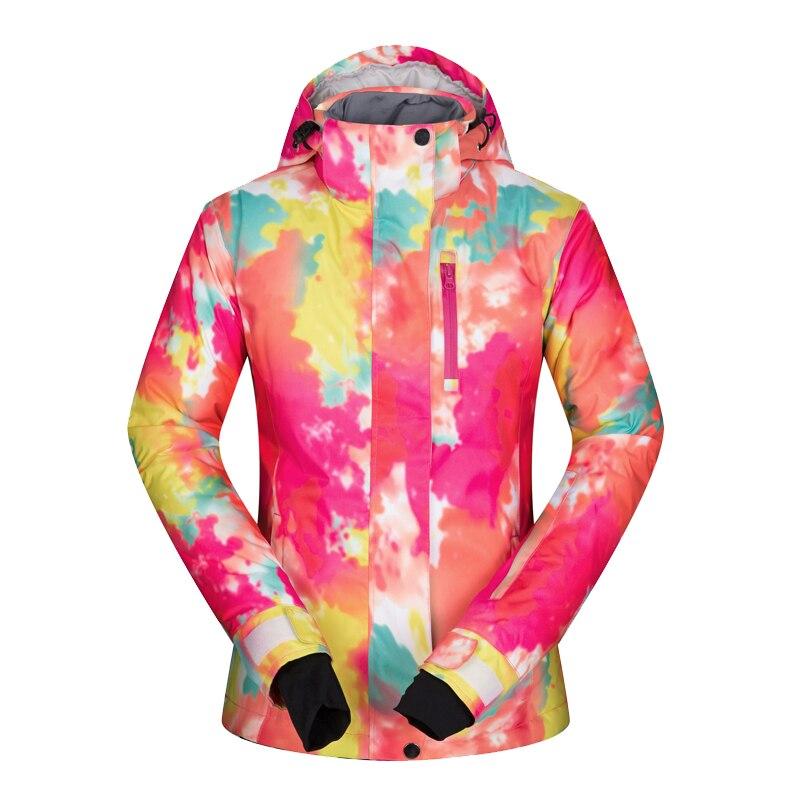 2019 hiver veste de Ski femme neige Snowboard veste de Ski de fond femmes imperméable à l'eau chaud Ski et Snowboard vêtements marques