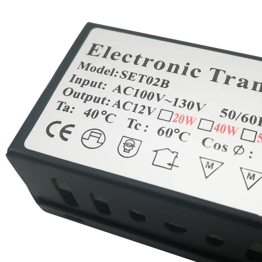 110 В электронды трансформатор 60W 120w 160W - Жарықтандыру керек-жарақтары - фото 5