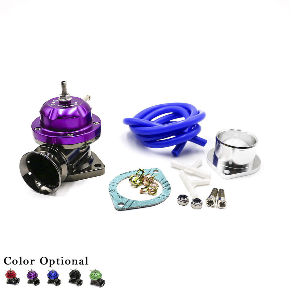 CNSPEED Universal Racing Car Turbo Blow Off Valve Adjustable 25psi BOV Blow Dump Blow Off Adaptor  Turbo Blow Valve XS100370