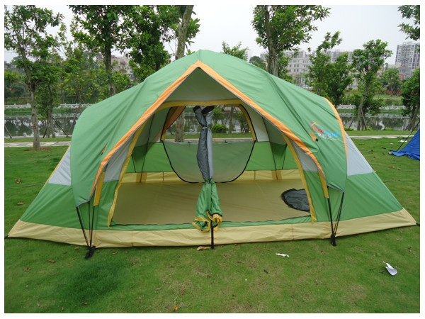 beach tent 5-6 person large family tent camping tent sun shelter gazebo tourist tent for Advertising/exhibition alltel high quality double layer ultralarge 4 8person family party gardon beach camping tent gazebo sun shelter