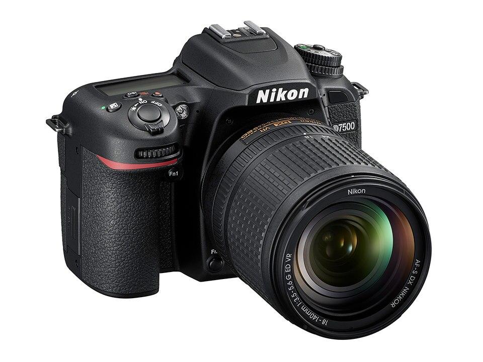 Nikon D7500 DSLR Camera Body & AF-S DX 18-140mm f/3.5-5.6G ED VR Lens