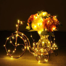 50pcs/lot LED Lamps White Balloon Lights For Paper Lanterns Balloons Wedding Birthday Party Decoration