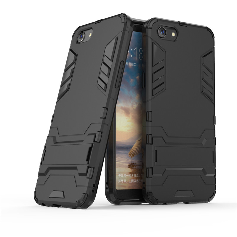 For OPPO A83 Case Silicone Luxury Protective Robot Rubber Armor Hard Back Phone Case For OPPO A83 Cover For OPPO Case
