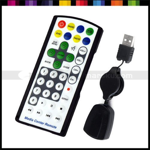 Universal USB wireless IR Remote Control Media Controller 40 button for PC Computer Laptop #024