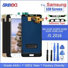 ЖК дисплей Дисплей для samsung J5 2016 j510 SM J510F J510FN J510M J510Y J510G Дисплей кодирующий преобразователь сенсорного экрана в сборе Клей Инструменты