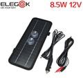 ELEGEEK 8.5 W 12 V Painel Solar Carregador de Bateria de Carro Portátil com Dupla Clipes e Ventosas para Bateria de Carro ao ar livre de Emergência