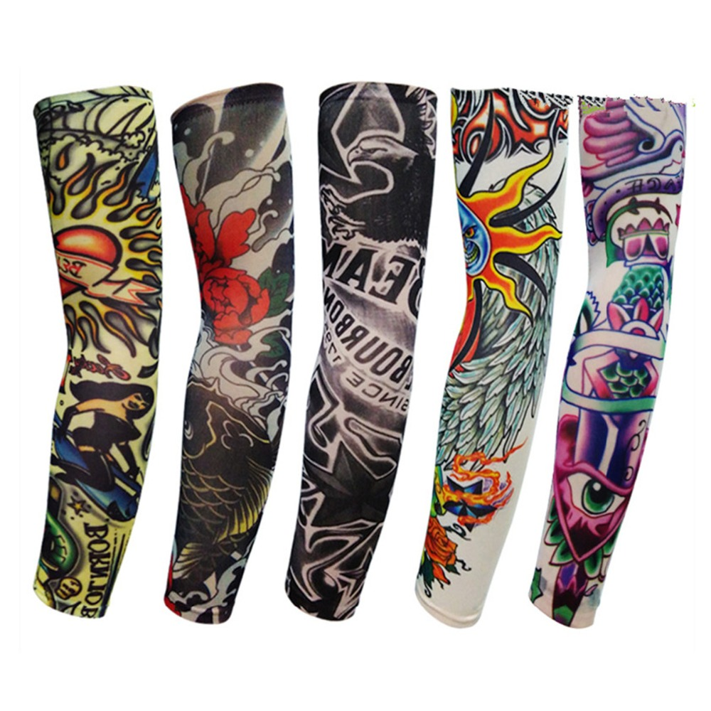 Arm Sleeves Importance of Coral Reefs Mens Sun UV Protection Sleeves Arm Warmers Cool Long Set Covers White