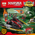 Lepin 06044 Ninjagoed serie de Bermellón Invasor montado Bloques de Construcción Ladrillos Juguetes compatible con 70624