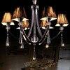 6/8 ראש Vintage נברשת קריסטל אור נברשת 110 V 220 V Luminaria חדר אוכל המודרני עיצוב זוהר נברשות-בנברשות מתוך פנסים ותאורה באתר