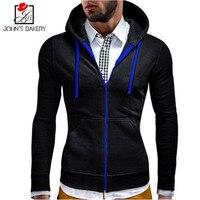 2018 New Fashion Hoodies Brand Men Zipper Sweatshirt Male Hoody Hip Hop Autumn Winter Hoodie Mens