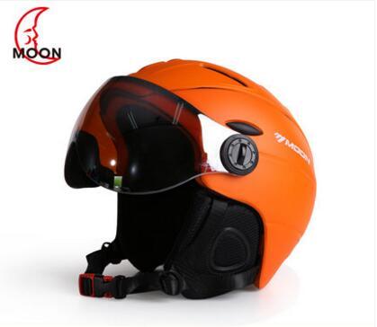 MOON ski helmet men and women outdoor helmets sports equipment ski goggles goggles adult helmets ski protection helmets outdoor