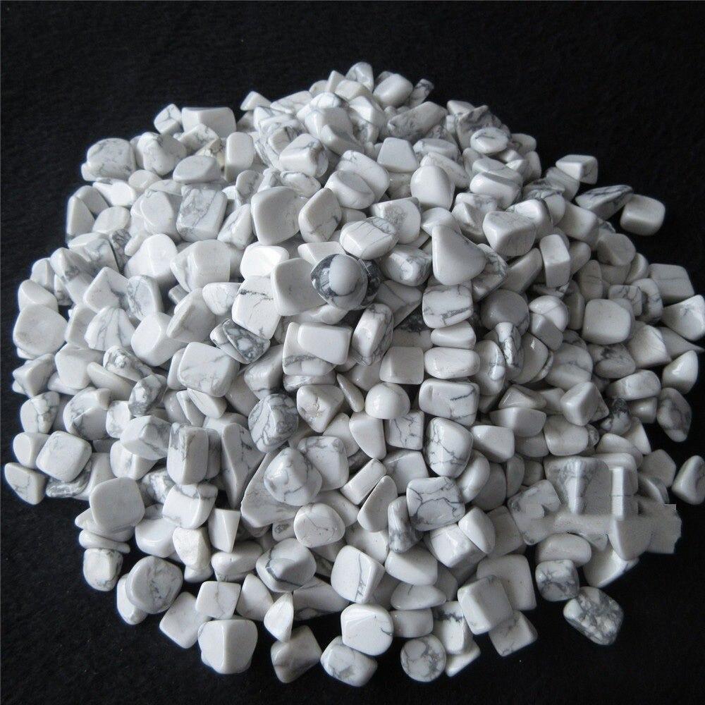Gemstone Crystal 1 White Magnesite Tumbled Stone