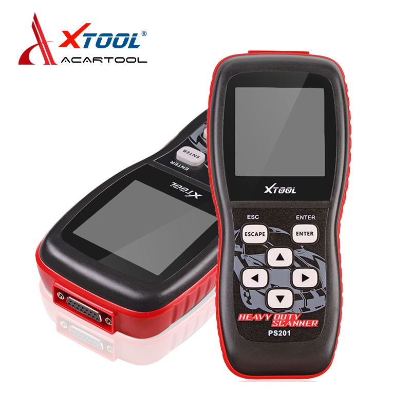 100% Original Xtool PS201 Heavy Duty Code Reader scanner OBDII/EOBD/CANBUS Compliant Heavy truck Vehicles Diesel Tool  ps201  цены