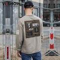 VIISHOW Mens Hoodies Causal Mens Sweatshirt Hip Hop Printed Pullover Men Hoodie Plus Size Suits Men Clothing WD35263