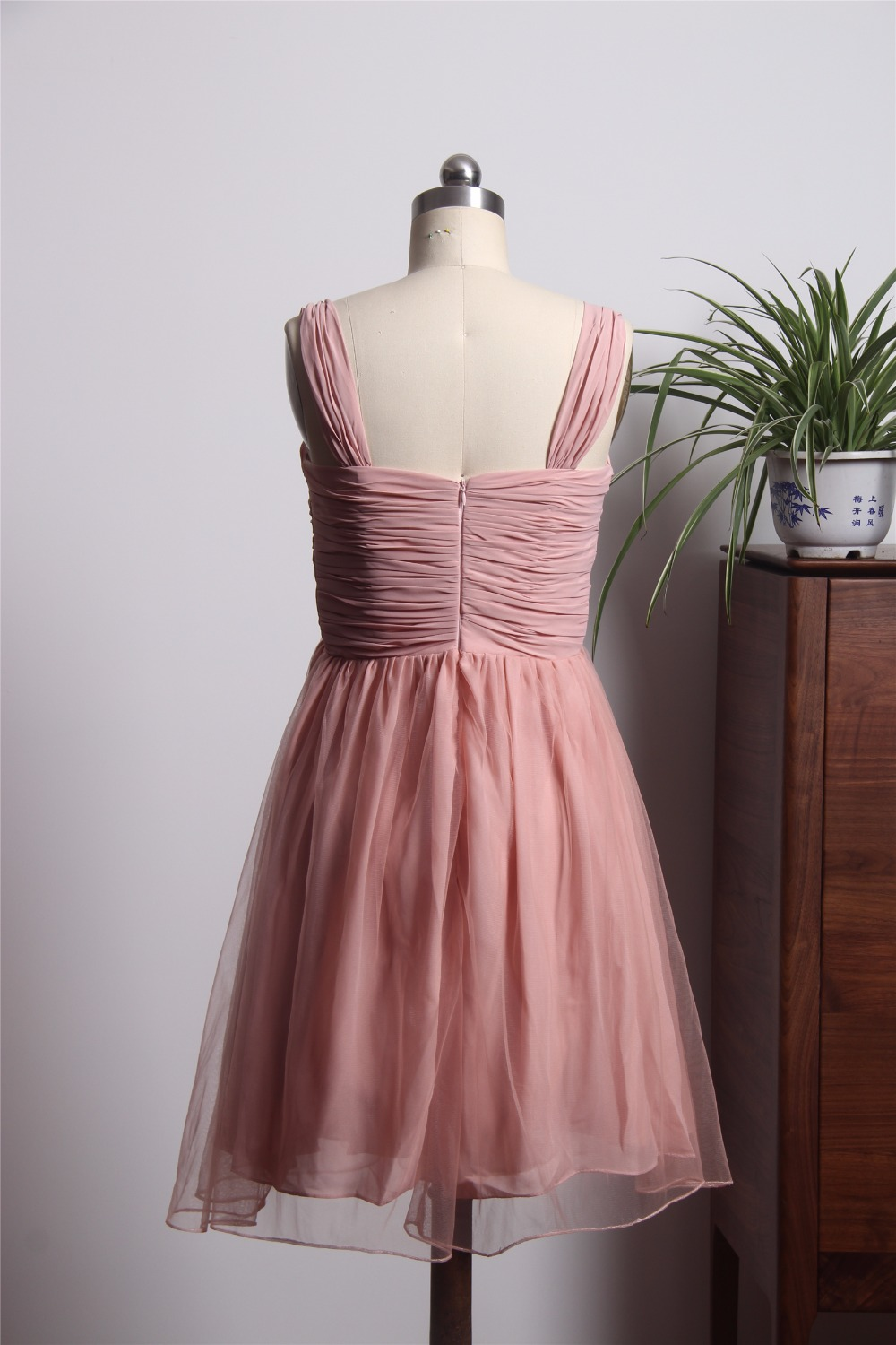 Stunning sweetheart bridesmaid dresses short mini chiffon dress stunning sweetheart bridesmaid dresses short mini chiffon dress for wedding party demoiselle dhonneur femme in bridesmaid dresses from weddings events ombrellifo Images
