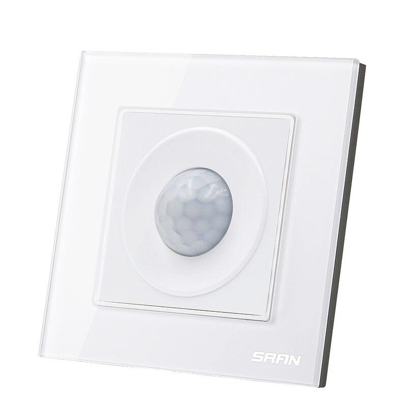 Intelligent Switch Wall Outlet PIR Senser Infrared IR Switcher Module Body Motion Sensor Auto On Off Corridor Light Lamp