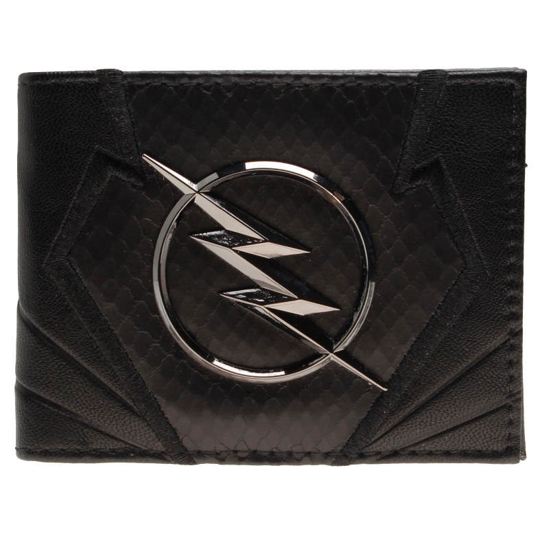 Flash  wallet DC Comics Heroes vs Villains Bi-Fold Purse  DFT-2044 star trek command metal logo bi a fold wallet dft 1404