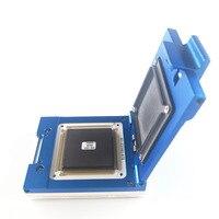 Soquete para CQFP208 personalizado pin passo 0.5 IC 27.2x27.2mm tamanho para queimar no teste ou teste funcional frete grátis