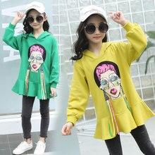 Get more info on the Girls Stylish Hoodie Crop Sweatshirt Teen Sweatshirts for Girls 5 6 7 8 9 10 11 12 Years Old Cute Cartoon Sweat Shirt Kids Tops