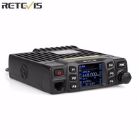 Retevis RT95 Dual Band 200CH Mobile Car Radio VHF/UHF:144 146/430~440MHz Password/Talk Around Function Black EU Frequency A9129B