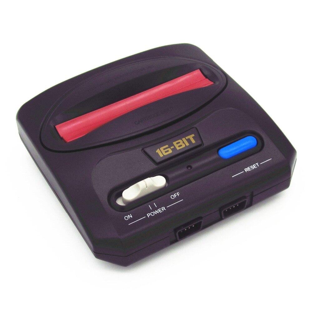 Топ 16bit retroad MD компактный мини Classic Edition Sega Genesis ТВ игровой консоли с 64 P картридж Солт 112in1 Sega забавные игры