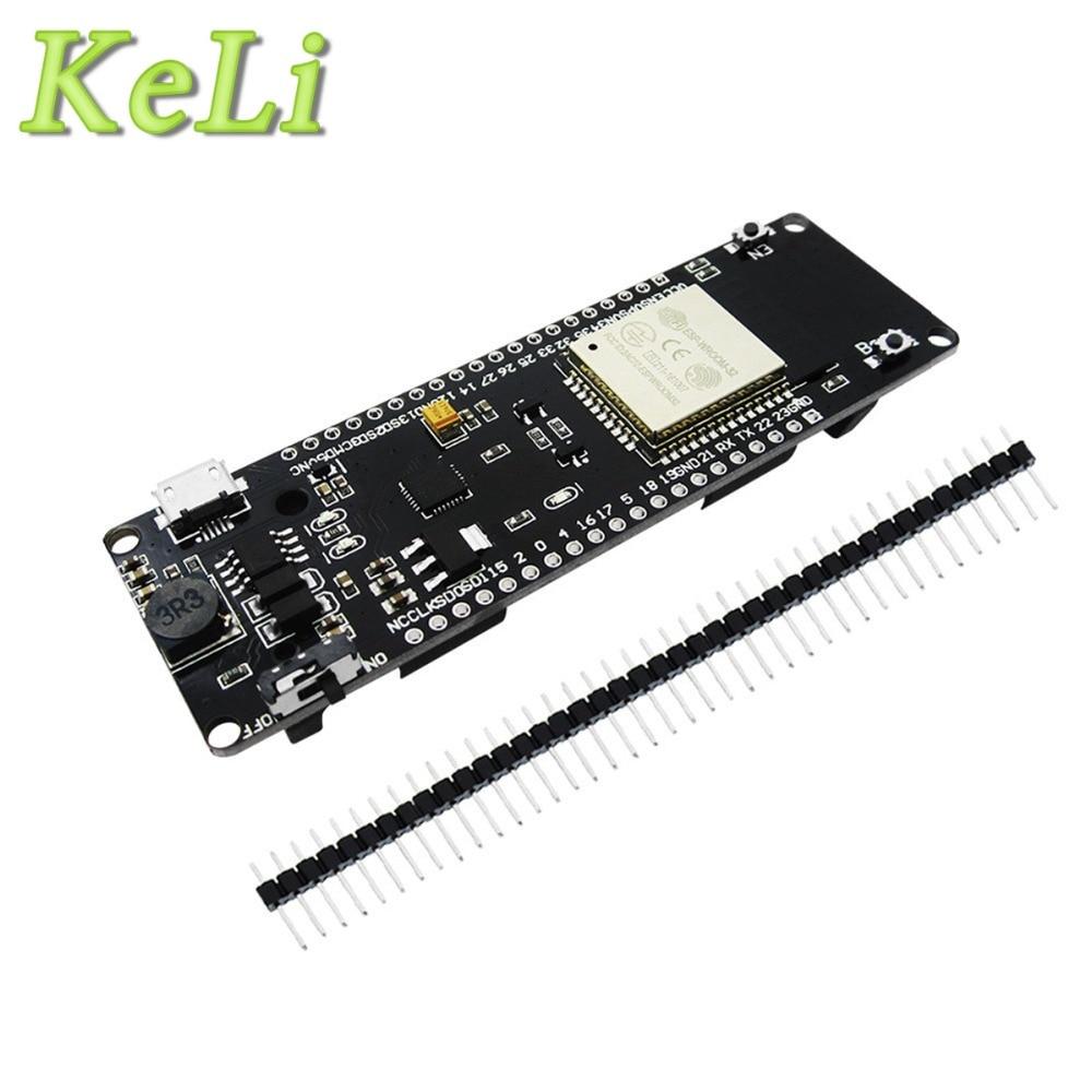5PCS WiFi + Bluetooth Battery ESP32 Development Tool Module Board Wholesale Universal NEW module xilinx xc3s500e spartan 3e fpga development evaluation board lcd1602 lcd12864 12 module open3s500e package b