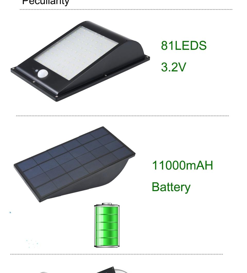 Grande qualidade CONDUZIU a iluminação Solar Ao