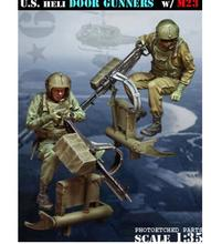 KIMERA New Unassembled 1/35 U.S. Heli Door Gunners resin & Buy door gunner and get free shipping on AliExpress.com