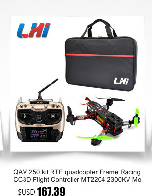 LED dron Full Carbon Fiber Frame Kit drones profissional RTF quadcopter with Remote Controller 250 quadrocopter rc helicopter