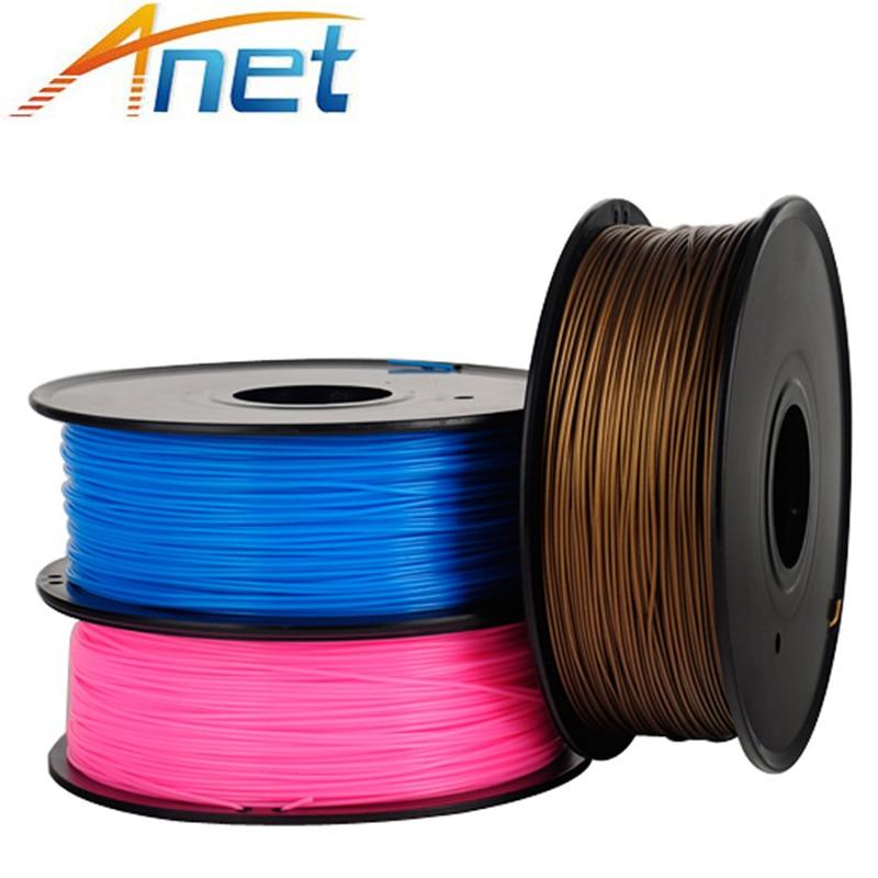 3roll/lot 3D Printer Filaments PLA ABS 1.75 mm 1Kg/spool Plastic Rod Rubber Ribbon Consumables Material Refills 3d printer material pla filaments consumables 3mm 1kg plastic cable