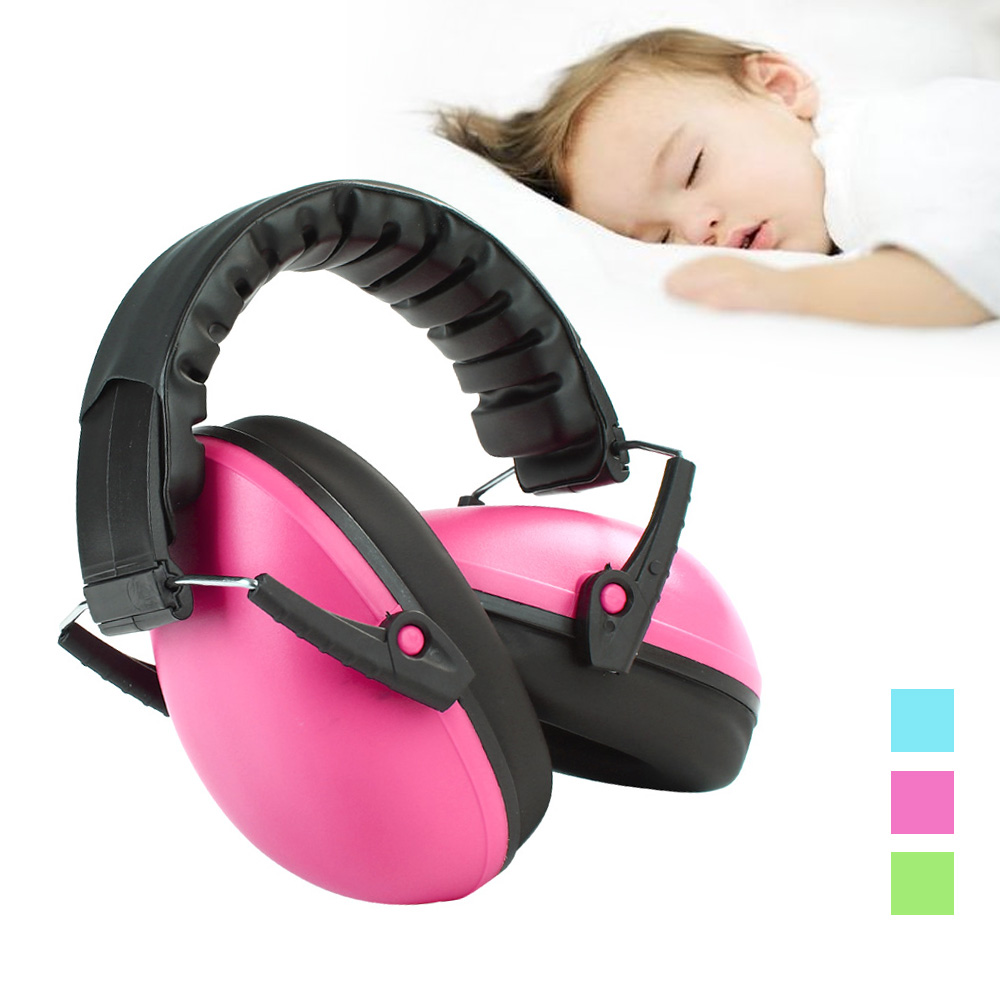 Kids Hearing Protector Soft Earmuffs Baby Sound Insulation Headset Headphones Anti-noise Ear Muff Baby Care Accessories 3 Colors