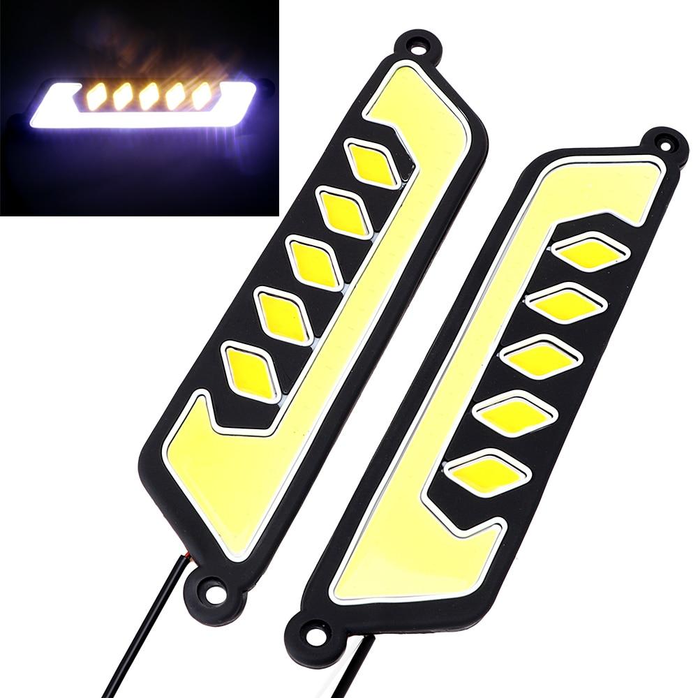 ITimo сигнала поворота лампы ДРЛ высокое качество супер яркий дневной свет водить автомобиль дневного света 2 шт ПОЧАТКА Противотуманные лампы гибкий