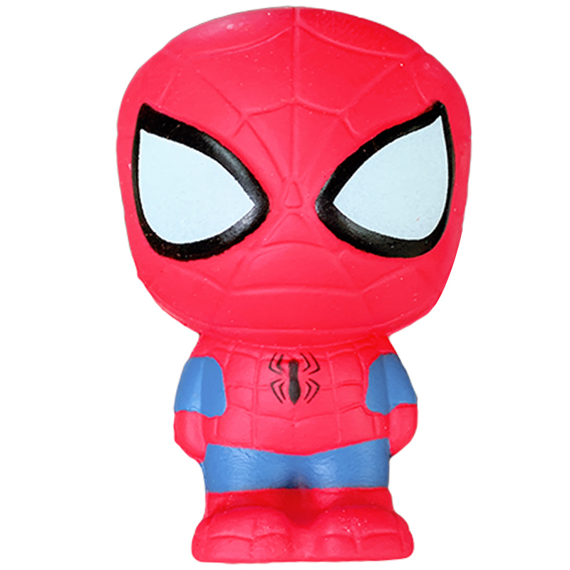 Jumbo Squishy Slow Rising Avengers Spiderman Iron Man Hulk Cartoon Doll Soft Squeeze Toy Stress Relief Fun For Kid Xmas Gift Toy