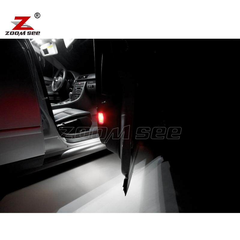 20 шт. x canbus светодиодные лампы Интерьер купола Карта свет комплект Вышивка Крестом Пакет для Audi A4 S4 RS4 b6 b7 седан салон только(2002-2008
