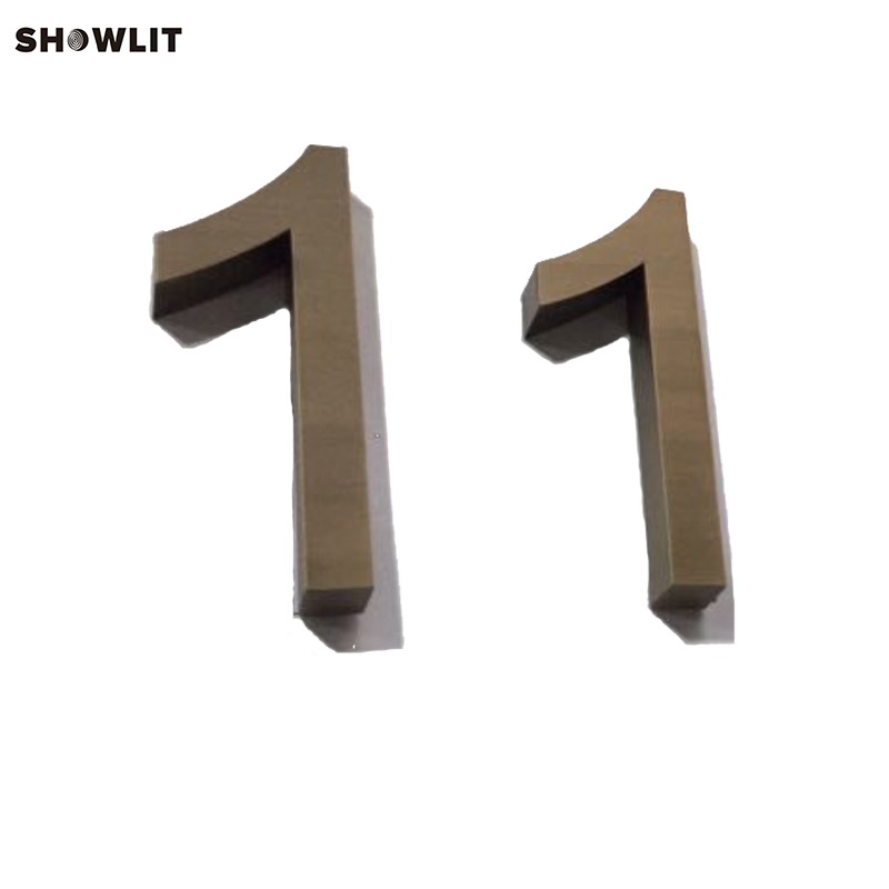 Antique Bronze Individual House Numbers Modern House Numbers class numbers quadratic and cyclotomic fields