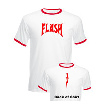 The Flash Gordon T Shirt Men Women BNWT STAG Fancy Dress Queen Freddie Mercury Retro 80s Tops Tee Shirt Tshirt Cotton T Shirts