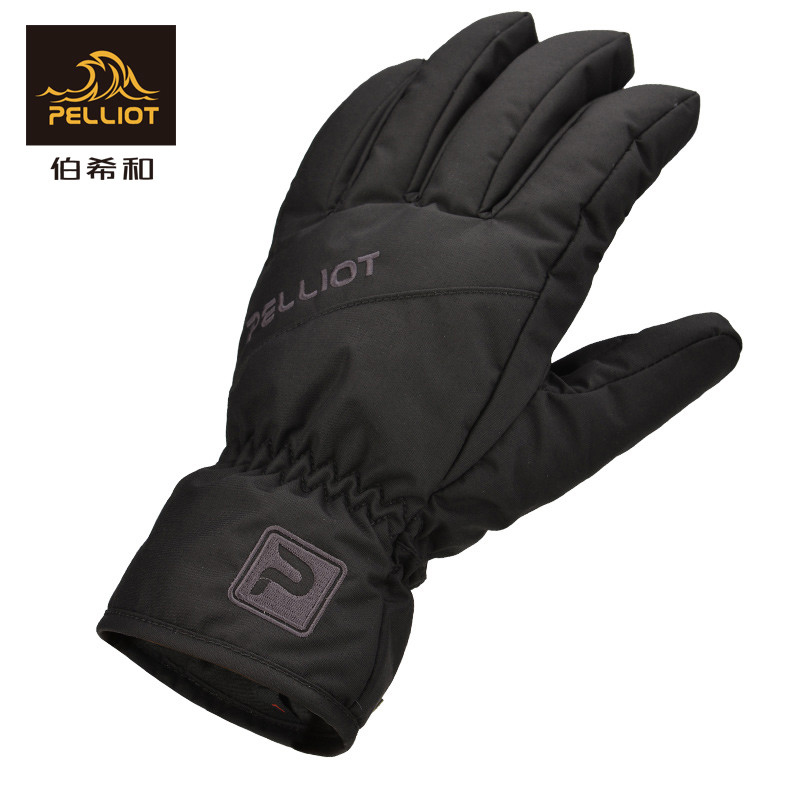 PELLIOT Free Shipping.Men Women Ski  Winter Waterproof Anti-Cold Warm Gloves Outdoor Sport Snow Sportswear Skiing Gloves 2018