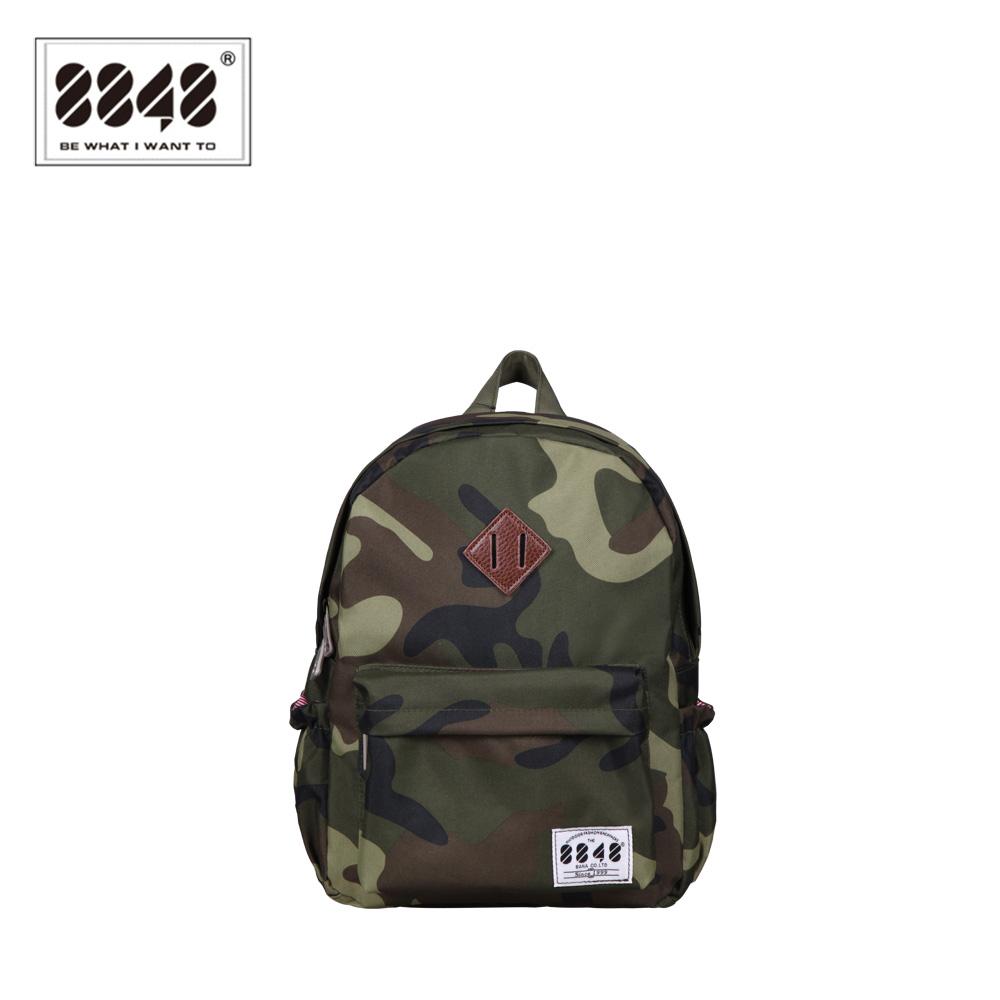 8848 Classical Camouflage Cool Backpacks School Bags For Boys Kids Backpack Waterproof