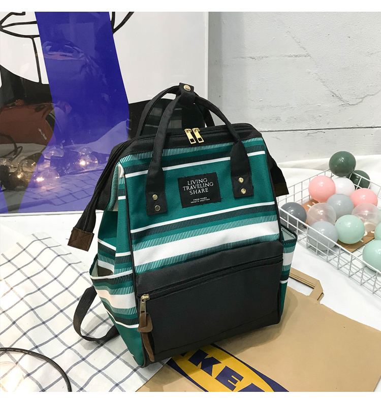 HTB1ERP5UbPpK1RjSZFFq6y5PpXaX 2019 Korean Style Women Backpack Canvas Travel Bag Mini Shoulder Bag For Teenage Girl School Bag Bagpack Rucksack Knapsack