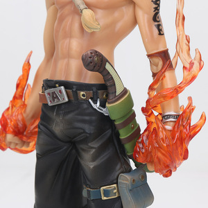 Image 4 - Anime One Piece Figure Ace Shanks Monkey D Luffy Figure Zoro Sanji law trafalgar Sabo One Piece Anime MSP PVC Model Toys