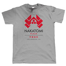 Nakatomi Plaza Mens T Shirt - Gift for Him Dad Action Movie Inspired Funny Tops Tee New Unisex High Quality
