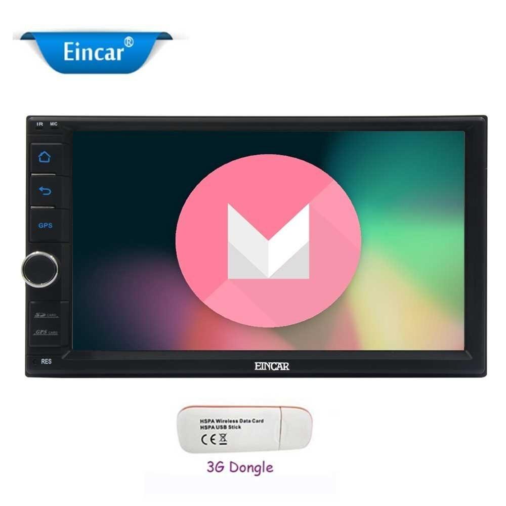 Двойной Дин стерео 7 ''Android 6.0 автомобилей Радио в тире автомобиля GPS Поддержка Wi Fi/SW управления /Зеркало Ссылка/OBD2 + бесплатная 3G ключ
