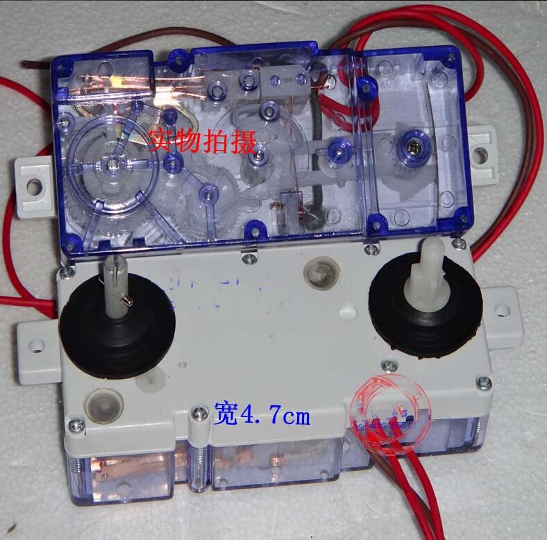 3 wires XPB55-510S dual washing machine timer DXT-15SF-201  brand new washing machine timer dxt 15f g 3 5a 250v 180 degree